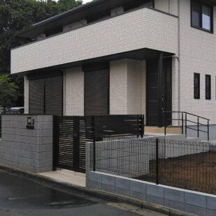 2021年6月 埼玉県川越市 新築外構工事